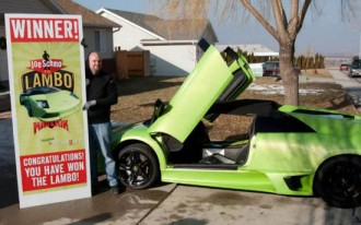 Utah Truck Driver Wins Lamborghini, Crashes It Within Hours: Video