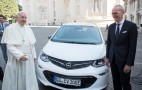Latest Popemobile is Opel Ampera-e electric car made in Michigan