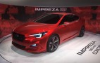2017 Subaru Impreza Hinted By L.A. Show Concept: Live Photos