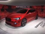 Subaru Impreza Sedan Concept  -  2015 Los Angeles Auto Show live photos