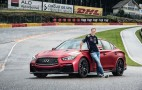 Sebastian Vettel Drives The Infiniti Q50 Eau Rouge On Eau Rouge: Video