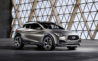 2017 Infiniti QX30: With Rugged-Lux Style, Set To Woo Young Urbanites