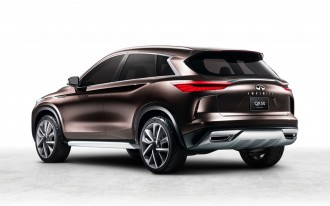 Infiniti previews next-gen QX50 with concept car