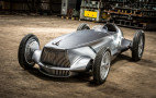 Infiniti reveals 'what if' Prototype 9 1940s grand prix racer ahead of Pebble Beach