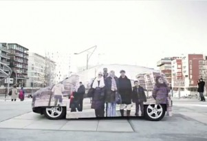 An Invisible Mercedes-Benz, Of Sorts: Video