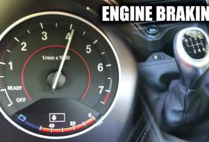 Is engine braking bad?