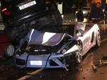 Italian Police Crash Lamborghini Gallardo