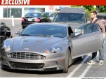 Jack Osbourne with his Aston Martin [via TMZ]