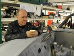 Jaguar design boss Ian Callum at England's Classic Motor Cars