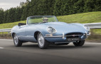 Jaguar melds old with new for E-Type Zero electric sports car