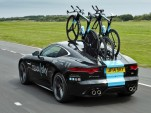 Jaguar F-Type built by SVO for Team Sky Tour de France cycling team