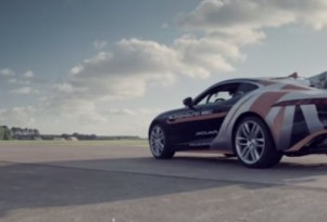 Jaguar F-Type R SSC Support Car