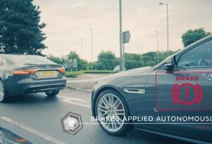 Jaguar Land Rover connected car and autonomous car technology