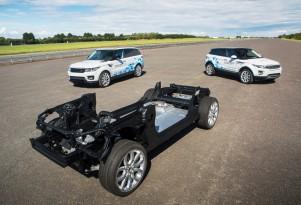 Jaguar Land Rover electrified vehicle concepts
