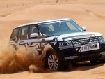 Jaguar Land Rover now extensively testing vehicles in the Middle East