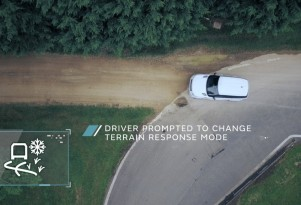 Jaguar Land Rover off-roading self-driving technology