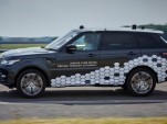 Jaguar Land Rover self-driving prototype