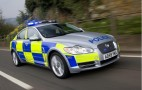 British Police Choose Jaguar XF For Patrol Duty