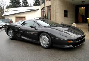 Jaguar XJ220 owned by Flavio Briatore