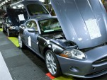 Jaguar XKR production line
