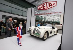 Jaguar 75th Anniversary Tour