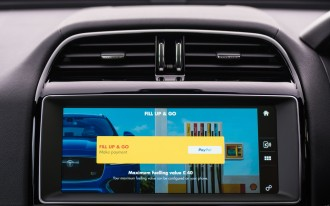 Jaguar and Shell make credit card swiping a thing of the past