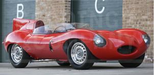 1956 Jaguar D-Type sold by Bernie Ecclestone
