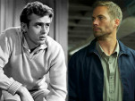 James Dean and Paul Walker