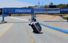 Lapping Laguna Seca On Two Wheels... In A Mustang: Video