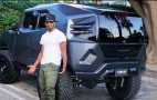 Jamie Foxx spotted driving the Rezvani Tank