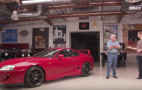 Cody Walker brings a Toyota Supra to Jay Leno's Garage