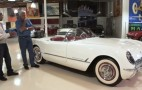 Jay Leno And Ed Welburn Check Out Some Vintage 'Vettes: Video