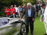Jay Leno and Nissan's Andy Parkin discuss Infiniti's Emerg-E concept