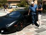 Jay Leno and Stephan Winkelmann talk about the Lamborghini Aventador