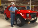 Jay Leno and the Lamborghini LM002