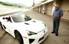 Jay Leno Drives One-Off Lexus LFA Spyder: Video