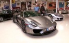 Jay Leno Takes A Second Spin In The Porsche 918 Spyder: Video
