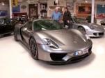 Jay Leno and the Porsche 918 Spyder