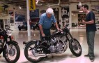 Hand-Crafted Bike Builder Steals The Jay Leno's Garage Stage