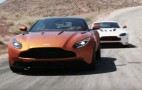 Jay Leno, former Stig Ben Collins and the Aston Martin DB11 all in 1 video