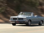 Jay Leno checks out the 1964 Pontiac GTO convertible