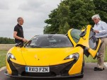 Jay Leno checks out the McLaren P1 - Image via Jay Leno's Garage