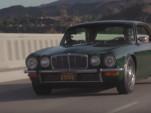Jay Leno drive sa 1975 Jaguar XJ6 Coupe