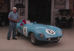 Jay Leno drives a 1955 Ferrari 500 Mondial Series II