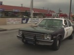 Jay Leno drives a 1978 Chevrolet Nova 9C1 cop car