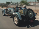 Jay Leno drives his 1915 Hispano-Suiza