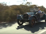 Jay Leno drives his 1918 Model 66 Pierce Arrow