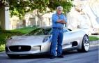 Video: Jay Leno Drives The Jaguar C-X75 Concept From The LA Show