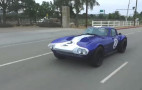 Jay Leno drives the Superformance Corvette Grand Sport