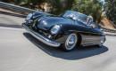 Jay Leno driving a 1959 Porsche 356